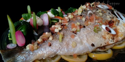 Baked Fish with Herbs and Lemon
