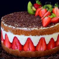 Strawberry Cake a-la Fraisier
