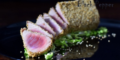 Sesame Tuna Steak